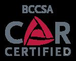 BCCSA COR Certified logo