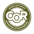 Workplace Safety COR logo